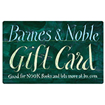 BARNES & NOBLE<sup>®</sup> $25 Gift Card