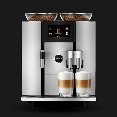 JURA<sup>&reg;</sup> GIGA 6 Automatic Coffee Machine - This top quality machine is brimming with the latest technology for outstanding results. Features include combined power of two heating systems and two pumps for 28 specialties, two electronically adjustable ceramic disc grinders, programmable 10 temperature levels, 4.3&quot; high-resolution touchscreen color display, and removable dishwasher-safe drip tray.  Measures: 12.6&quot; x 16.3&quot; x 18.9&quot;.