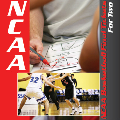 NCAA<sup>®</sup> Basketball Final Tickets - It's college basketball's biggest game!  Get 2 tickets to the NCAA Division I Men's Basketball Championship game. Tickets subject to availability based on date of request. Airfare not included.
